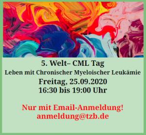 Logo 5. Welt-CML-Tag